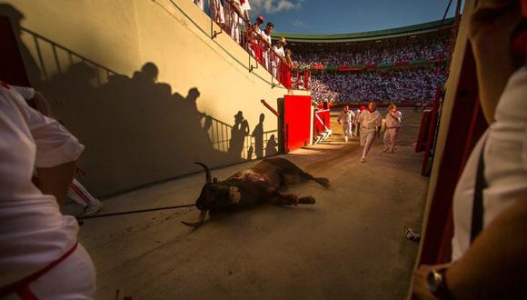 Pamplona, España, a 8 de julio. Foto: Andres Kudacki/ AP