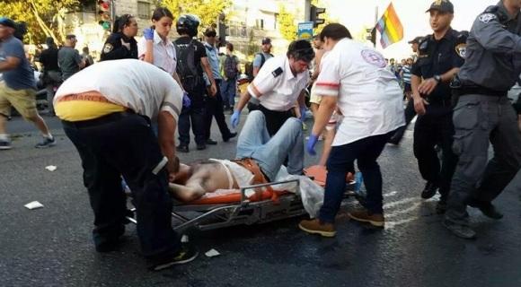 ataque manifestación gay israel 1