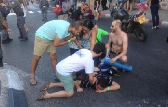 ataque manifestacion homosexual israel
