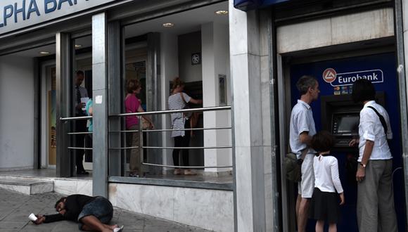 Alpha Bank en Atenas, Grecia. Foto: lr21.com.uy