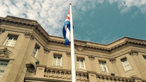 bandera cubana en washington 580