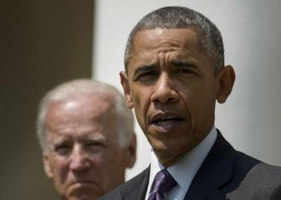 El Presidente Obama y el Vicepresidente Joe Baiden, en la Casa Blanca. Foto: Reuters