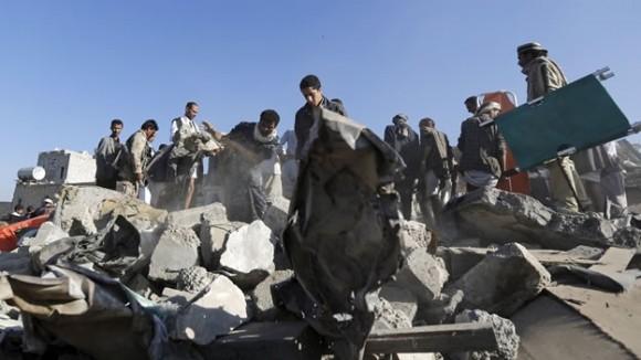 El bombardeo que tuvo lugar hoy es el que ha causado un mayor número de víctimas desde que entrara en vigor la tregua humanitaria auspiciada por la ONU, el pasado viernes. Foto tomada de mexico.cnn.com