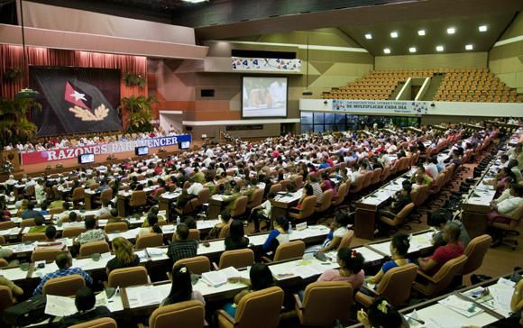 Clasura X Congreso de la UJC.  Foto: Ladyrene Pérez/ Cubadebate.