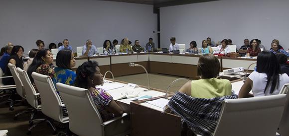 Comisión de Asuntos Constitucionales y Jurídicos. Foto: Ismael Francisco/ Cubadebate