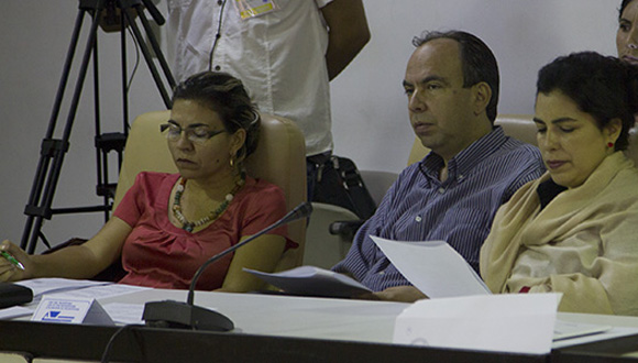 Comisión de Relaciones Internacionales. Foto: Ismael Francisco/ Cubadebate