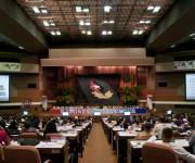 Intercambio sobre la proyección del país hacia el desarrollo de las nuevas tecnologías y su acceso. Foto: Ladyrene Pérez/ Cubadebate.