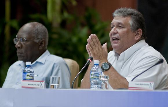 Marino Murillo, Ministro de economía y planificación. Foto: Ladyrene Pérez/ Cubadebate.