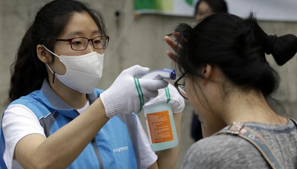Una de las medidas sanitarias tomadas en Corea del Sur ante el virus MERS. Foto tomada de La Nación