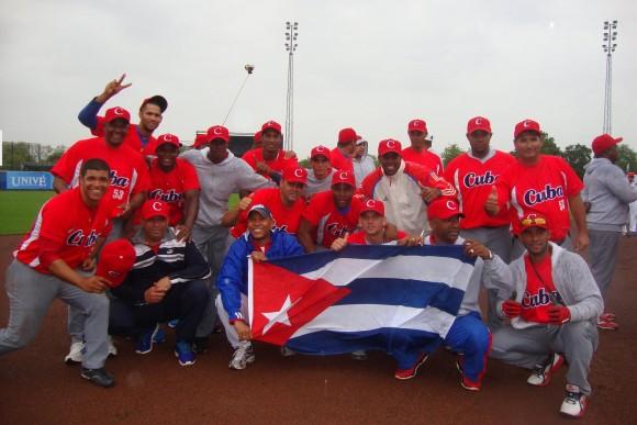 Cuba Campeón en Rotterdam. Foto: Carlos Ernesto Rodríguez Etcheverry / Embajada de Cuba en los Países Bajos