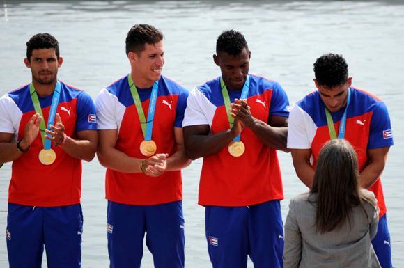 Canotaje da a Cuba la segunda Medalla de Oro en Toronto 2015