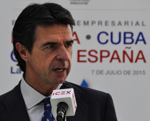 José Manuel Soria, ministro de Industria, Energía y Turismo de España. Foto: AIN.