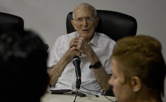 José Ramón Fernández. Foto: Ladyrene Pérez/ Cubadebate.