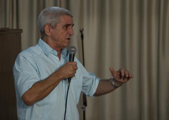 Alfredo López, Ministro de Energía y Minas. Foto: Ladyrene Pérez/ Cubadebate.