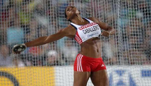 Denia Caballero. Foto: IAAF.