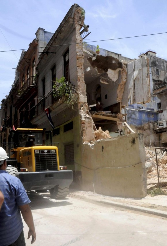 Derrumbe en un inmueble en La Habana: 4 personas murieron y 3 resultaron lesionadas