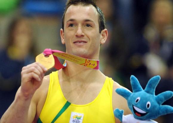El gimnasta brasileño Diego Hypolito será el principal ausente en el caballo de salto. Foto tomada de chalkandgrips.wordpress.com