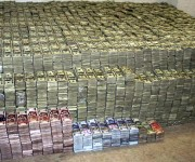 MEXICO-DRUGS-SEIZURE-MONEY
