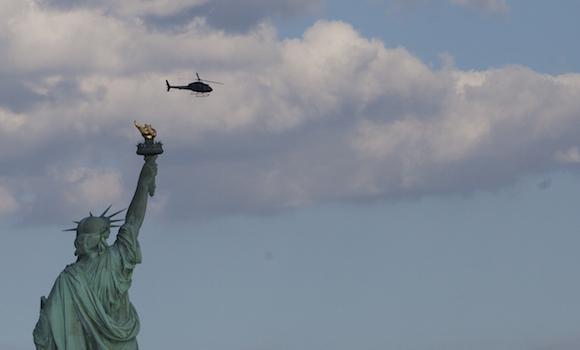 """Una de las imágenes más conocidas de Nueva York: la Estatua de la Libertad, de la cual Martí dijera: """"Los que te tienen, oh libertad, no te conocen. Los que no te tienen no deben hablar de ti, sino conquistarte."""" Foto: Ismael Francisco/ Cubadebate"""