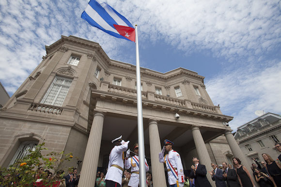 Reabre la Embajada de Cuba en Washington. Foto: Ismael Francisco/ Cubadebate