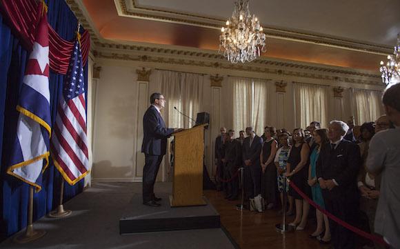 Reabre la Embajada de Cuba en Washington. Foto: Ismael Francisco/ Cubadebate