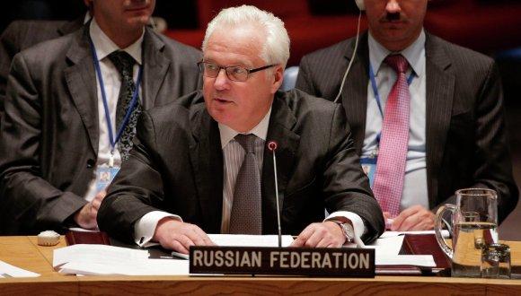 El embajador de Rusia ante Naciones Unidas, Vitali Churkin. Foto: AP.