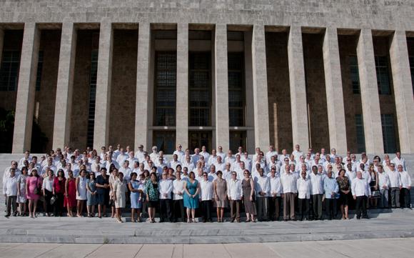 Foto de familia. Foto: Ladyrene Pérez/ Cubadebate.