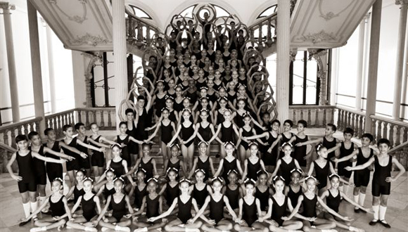 Academia de ballet en latex 9