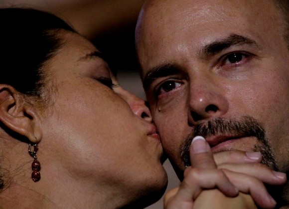 Gerardo y Adriana, en libertad. Foto: Ismael Francisco/ Cubadebate.