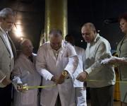 """Inauguración de la expo fotográfica """"El desafío del Ébola"""". Foto: Ismael Francisco/ Cubadebate."""