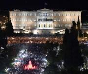 Rotundo NO de Grecia: 61% de los votantes rechazaron paquet