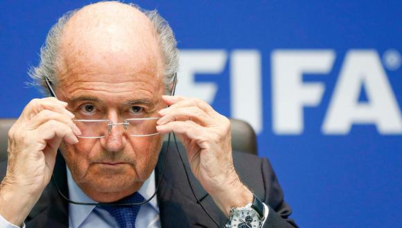 Joseph Blatter. Foto tomada  de radio.uchile.cl