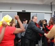 Los Cinco en Angola. Última etapa de la gira por tres países africanos. Foto: Deisy Francis Mexidor.