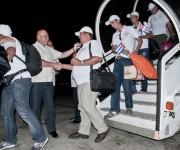 Roberto Morales Ojeda, Ministro de Salud Pública recibió a la brigada médica  Henry Reeve que  asistieron a los damnificados por el  terremoto que estremeció a Nepal. Foto: Ladyrene Pérez/ Cubadebate.