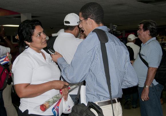 Marcia Rodríguez, integrante de la brigada médica nos cuenta sobre sus experiencias. Foto: Ladyrene Pérez/ Cbadebate.