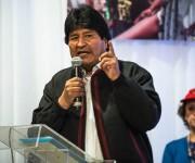 Evo Morales inaugura el II Encuentro de Movimientos Populares. Foto: Equipo de prensa EMMP.