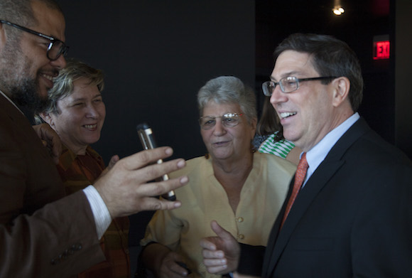 Delegación cubana en el Hotel Washington. Foto: Ismael Francisco/ Cubadebate