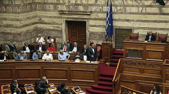 Parlamento griego.