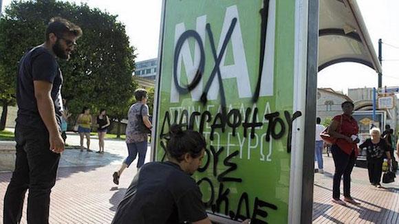"""Grecia: El """"no"""" se impone en el referendo, según los primeros resultados"""