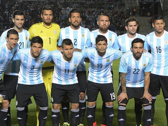 Jugadores de la plantilla argentina que quedó subcampeona de la Copa América. Foto tomada de peru.com