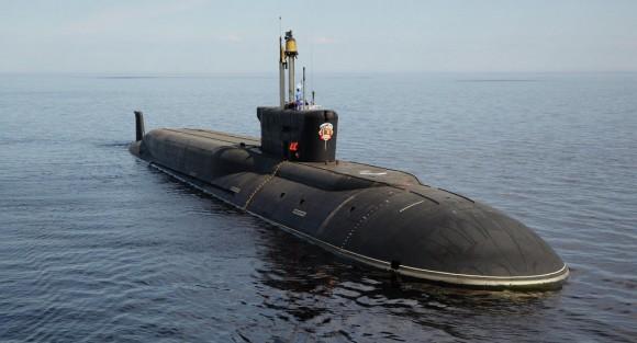 "Submarino nuclear. Foto: CDB ME ""Rubin"""