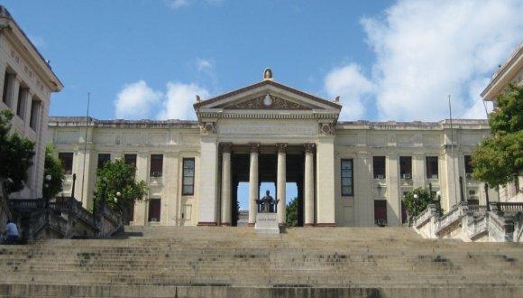 Universidad de la Habana. Foto: agencia.