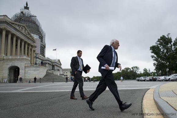 Foto: Bernie Sanders / AFP.