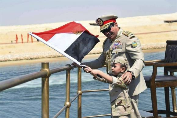Abdelfatah-Sisi-inauguracion-Suez-EFE