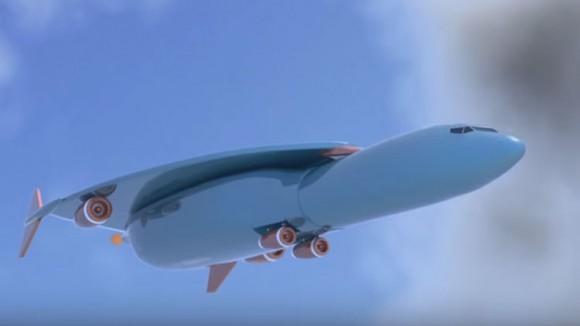 Patentan en Europa avión supersónico avanzado