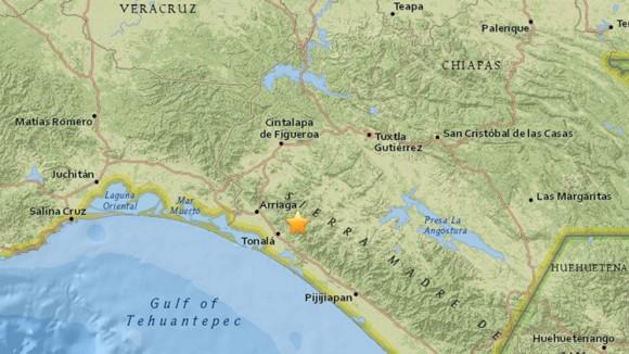 Chiapas terremoto