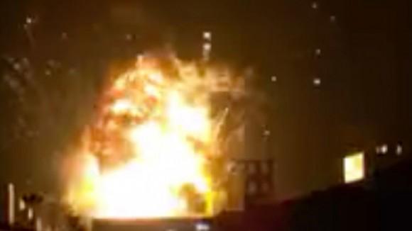 China explosión