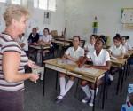 Clases en la Escuela Pedagógica de Pinar del Río. Foto: Ronald Suárez Rivas