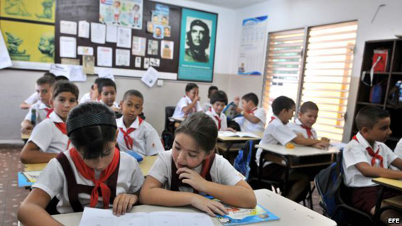 Inicio de curso escolar. Foto: Ismael Francisco/Archivo de Cubadebate.