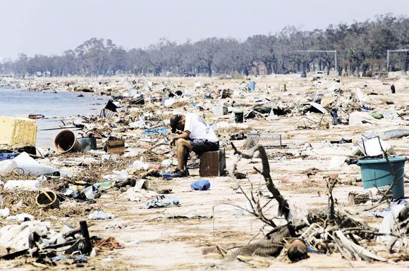 El 29 de agosto de 2005, Nueva Orleáns quedó bajo el ojo del huracán Katrina. Foto: AFP (Archivo)